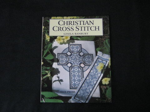 Christian,Cross,Stitch,written,by,Gisela,Banbury,book, cross stitch, cross stitch book, Christian cross stitch, religious cross stitch,  Gisela Banbury, religious needlework, BrushCreekWoolWorks, Brush Creek Wool Works