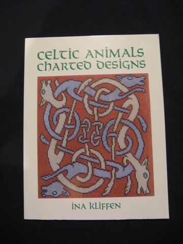 Celtic,Animals,Charted,Designs,written,by,Ina,Kliffen,book, charted designs, Celtic charted designs, Celtic, Celtic designs, needlecraft designs, Celtic needlecraft, Celtic animals, Celtic animal designs, Ina Kliffen, BrushCreekWoolWorks, Brush Creek Wool Works