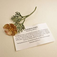 California Poppy Pin - product images 7 of 7