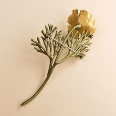 California Poppy Pin - product images 5 of 7