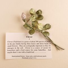 Clover Spray Pin - product images  of