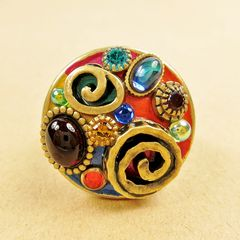Michal Golan - Confetti Round Ring - product images 1 of 4