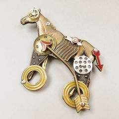 Mullanium - Horse on Wheels Pin - product images 4 of 6