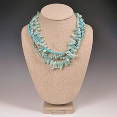 Echo of the Dreamer Multistrand Bead Necklace - product images 9 of 9