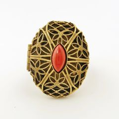 Jan Michaels Lace Locket Ring - product images 2 of 6