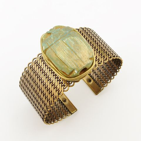 Jan,Michaels,Cleopatra's,Scarab,Cuff,Jan Michaels, Jan Michaels Cleopatra's Scarab Cuff, Jan Michaels bracelet