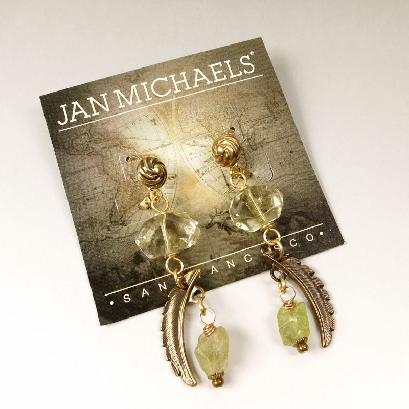 Jan Michaels Quill Earrings - product image
