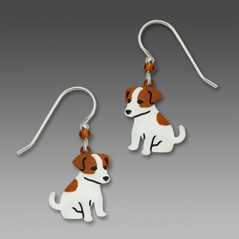 Sienna,Sky,Earrings,-,Jack,Russell,Terrier,Sienna Sky Earrings, Sienna Sky Jewelry, Sienna Sky Dog Earrings, Sienna Sky 1223