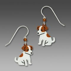 Sienna Sky Earrings - Jack Russell Terrier - product images 1 of 4