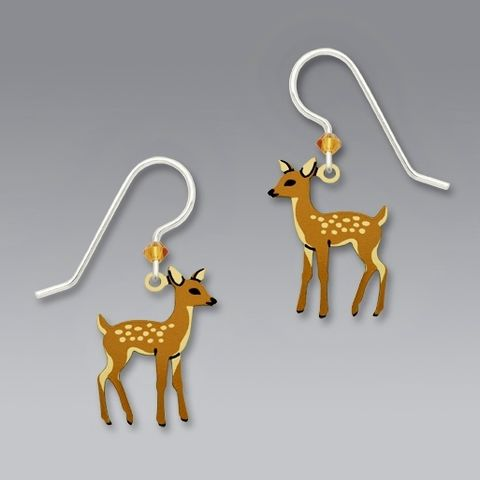 Sienna,Sky,Earrings,-,Young,Fawn,Sienna Sky Earrings, Sienna Sky Earrings Young Fawn, Sienna Sky deer Earrings, Sienna Sky 1687