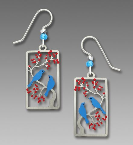 Sienna,Sky,Earrings,-,Two,Birds,in,a,Cherry,Tree,Sienna Sky Earrings, Adajio earrings Sienna Sky, Sienna Sky Colorado