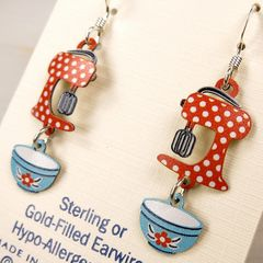 Sienna Sky Earrings - Vintage Mixer - product images 4 of 5