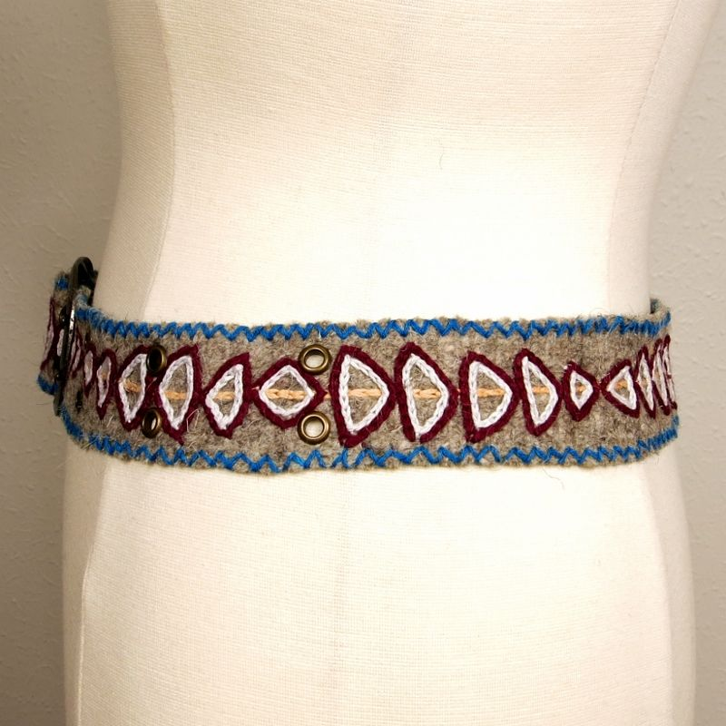 Jenny Krauss Arrow Felt Belt - product image