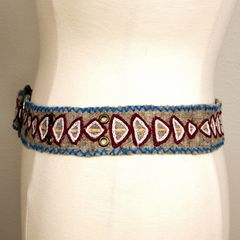 Jenny Krauss Arrow Felt Belt - product images  of
