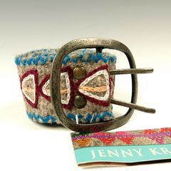 Jenny Krauss Arrow Felt Belt - product images 11 of 11