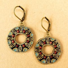 Michal Golan - 'Earth' Medium Open Circle Earrings - product images 3 of 5