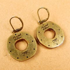 Michal Golan - 'Earth' Medium Open Circle Earrings - product images 4 of 5