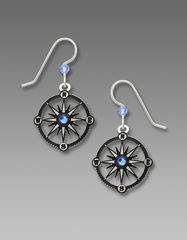 Sienna Sky Earrings - Compass - product images 1 of 5