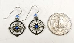 Sienna Sky Earrings - Compass - product images 5 of 5