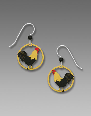 Sienna,Sky,Earrings,-,Rooster,Sienna Sky Earrings, Sienna Sky Earrings Rooster, Sienna Sky RoosterEarrings, Sienna Sky 1931
