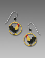 Sienna Sky Earrings - Rooster - product images 1 of 4