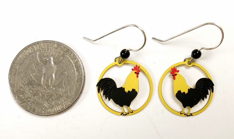 Sienna Sky Earrings - Rooster - product image