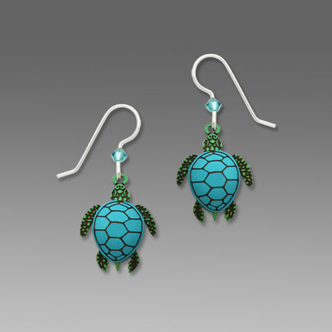 Sienna,Sky,Earrings,-,Sea,Turtle,Sienna Sky Earrings, Sienna Sky Earrings Sea Turtle, Sienna Sky Sea Turtle Earrings, Sienna Sky 1658
