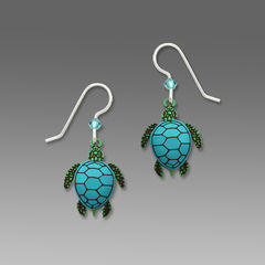 Sienna Sky Earrings - Sea Turtle - product images 1 of 5
