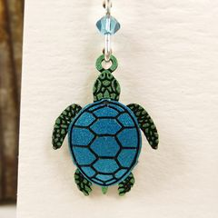 Sienna Sky Earrings - Sea Turtle - product images 3 of 5