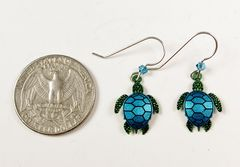 Sienna Sky Earrings - Sea Turtle - product images 5 of 5