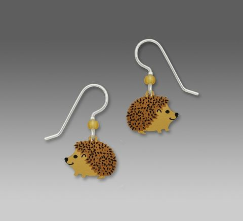 Sienna,Sky,Earrings,-,Hedgehog,Sienna Sky Earrings, Sienna Sky Earrings Hedgehog, Sienna Sky Hedgehog Earrings, Sienna Sky 1506