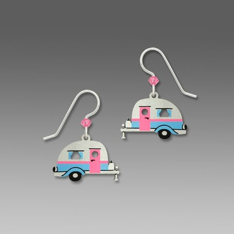 Sienna,Sky,Earrings,-,Road,Trip!,Retro,Travel,Trailer,Sienna Sky Earrings, Adajio earrings Sienna Sky, Sienna Sky Colorado, Retro trailer earrings