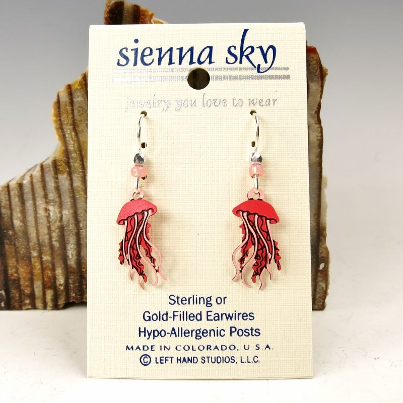 Sienna Sky Earrings - Jellyfish - product image