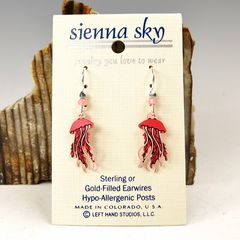 Sienna Sky Earrings - Jellyfish - product images 2 of 5