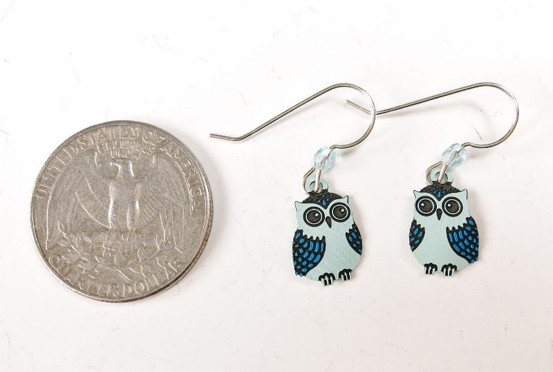 Sienna Sky Earrings - Blue Owl - product image