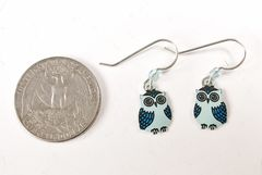 Sienna Sky Earrings - Blue Owl - product images 4 of 4