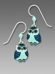 Sienna Sky Earrings - Blue Owl - product images 1 of 4