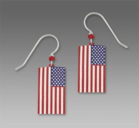 Sienna,Sky,Earrings,-,USA,Flag,Sienna Sky Earrings, Sienna Sky Earrings USA Flag, Sienna Sky 907