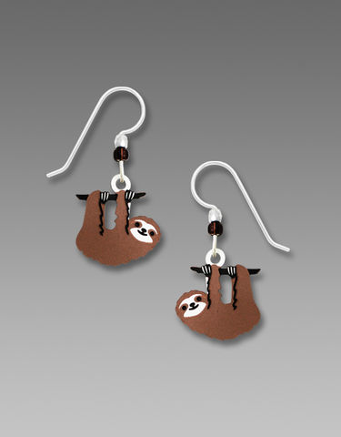 Sienna,Sky,Earrings,-,Hanging,Sloth,Sienna Sky Earrings, Adajio earrings Sienna Sky, Sienna Sky Colorado