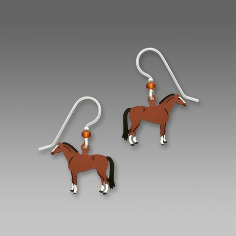 Sienna,Sky,Earrings,-,Dressage,Horse,Sienna Sky Earrings, Sienna Sky Earrings Dressage Horse, Sienna Sky 1593