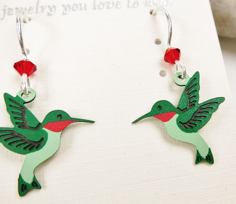 Sienna Sky Earrings - Hummingbird - product image