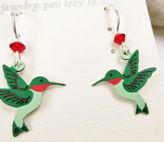 Sienna Sky Earrings - Hummingbird - product images 3 of 4