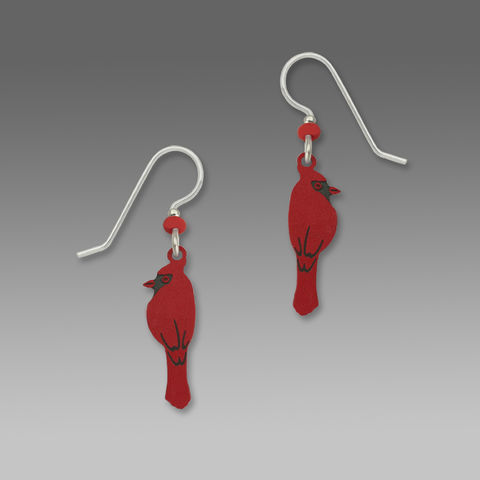 Sienna,Sky,Earrings,-,Perching,Cardinal,Sienna Sky Earrings, Sienna Sky Colorado, Sienna Sky Earrings Perching Cardinal, Sienna Sky 1159