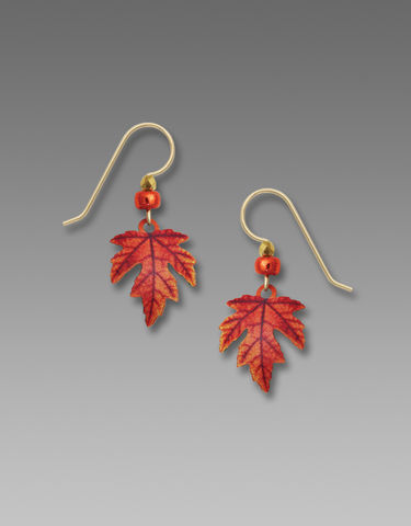 Sienna,Sky,Earrings,-,Autumn,Maple,Leaf,Sienna Sky Earrings, Sienna Sky Colorado, Sienna Sky Earrings Autumn Maple Leaf, Sienna Sky 1990