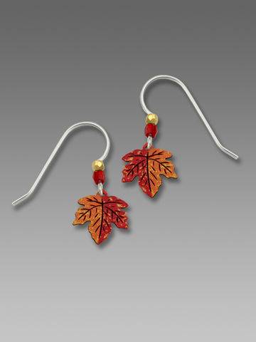 Sienna,Sky,Earrings,-,Small,Maple,Leaf,Sienna Sky Earrings,  Sienna Sky Maple Earrings, Sienna Sky 10263