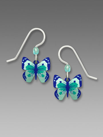 Sienna,Sky,Earrings,-,Turquoise,and,Deep,Blue,Fantasy,Butterfly,Sienna Sky Earrings, Sienna Sky Turquoise and Deep Blue Fantasy Butterfly Earrings, Sienna Sky 1798