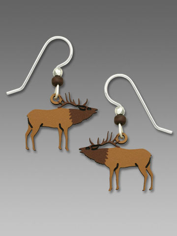 Sienna,Sky,Earrings,-,Bugling,Elk,Sienna Sky Earrings, Sienna Sky Earrings Bugling Elk, Sienna Sky 1833