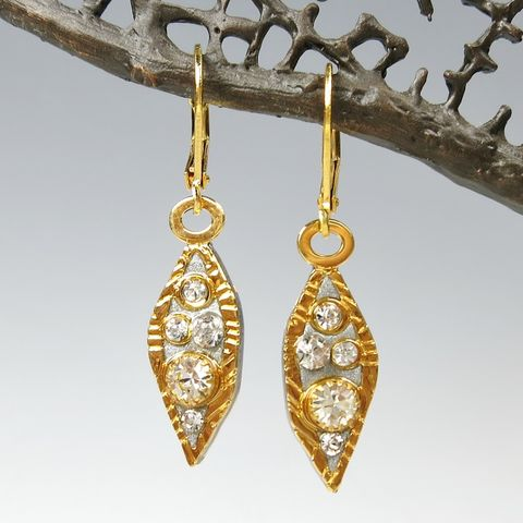Michal,Golan,-,Icicle,Small,Drop,Earrings,Michal Golan, Michal Golan Icicle Collection, Michal Golan Icicle Small Drop Earrings