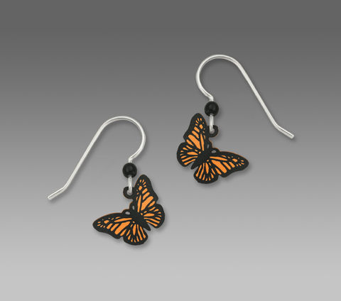Sienna,Sky,Earrings,-,Orange,Monarch,Butterfly,Sienna Sky Earrings, Sienna Sky Earrings Orange Monarch Butterfly, Sienna Sky 1312