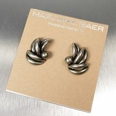 Marjorie Baer Leaf Bunch Earrings - product images 6 of 7